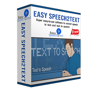 box of easyspeech2text pro